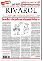 Rivarol n°3216 version numérique (PDF)