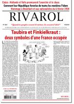 Rivarol n°3221 version numérique (PDF)