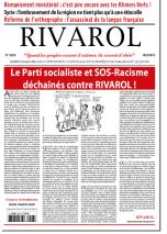 Rivarol n°3223 version numérique (PDF)