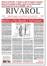 Rivarol n°3230 version numérique (PDF)