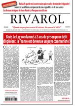 Rivarol n°3233 version numérique (PDF)