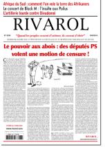 Rivarol n°3236 version numérique (PDF)