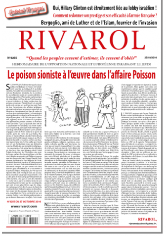 Rivarol n°3255 version numérique (PDF)