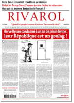 Rivarol n°3249 du 15/9/2016 (Papier)