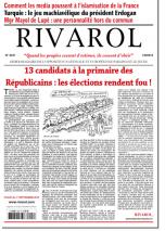 Rivarol n°3247 du 1/9/2016 (Papier)