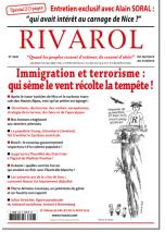 Rivarol n°3246 du 28/7 au 31/8/2016 (Papier)