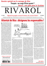 Rivarol n°3245 du 21/7/2016 (Papier)