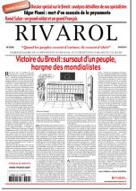 Rivarol n°3242 du 30/6/2016 (Papier)