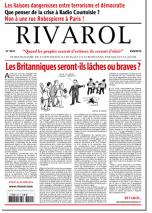 Rivarol n°3241 du 23/6/2016 (Papier)