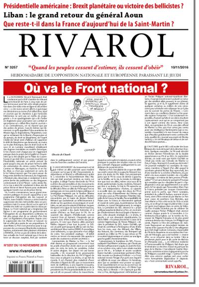 Rivarol n°3257 version numérique (PDF)