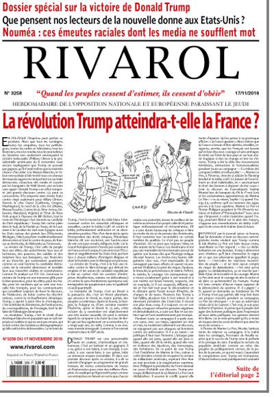 Rivarol n°3258 version numérique (PDF)