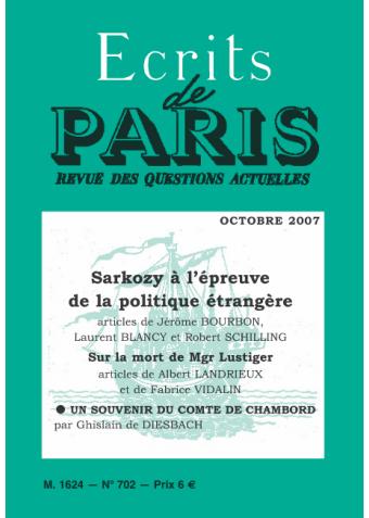 octobre 2007 (PDF) version numérique