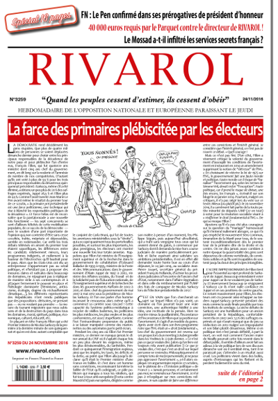 Rivarol n°3259 version numérique (PDF)