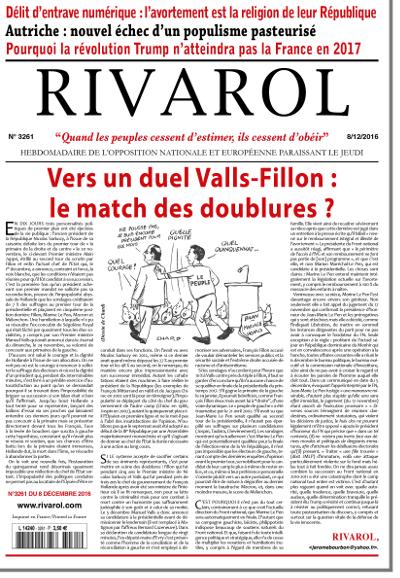 Rivarol n°3261 version numérique (PDF)