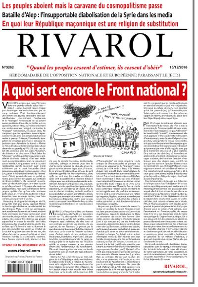 Rivarol n°3262 version numérique (PDF)