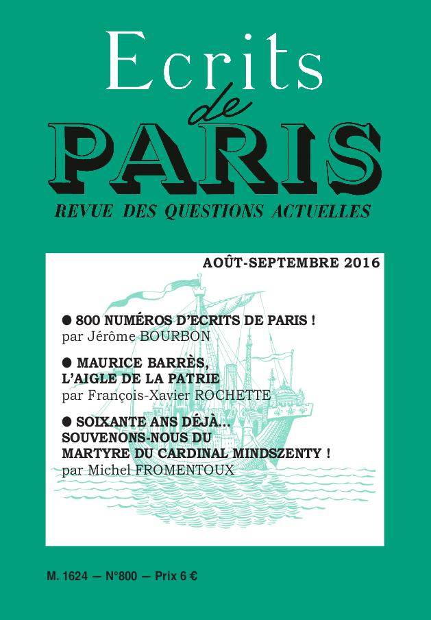 Août-septembre 2016 (PDF) version numérique