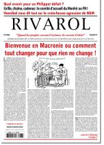 Rivarol n°3288 version numérique (PDF)