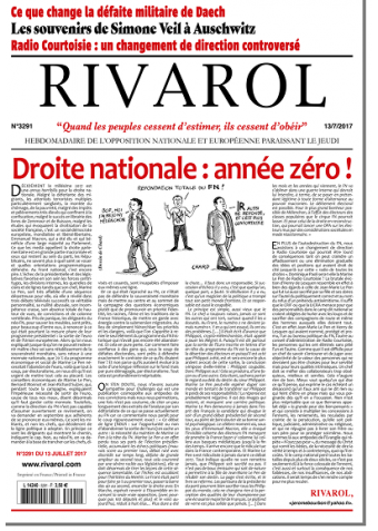 Rivarol n°3291 version numérique (PDF)