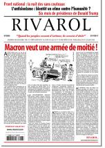 Rivarol n°3293 version numérique (PDF)