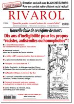 Rivarol n°3294 version numérique (PDF)