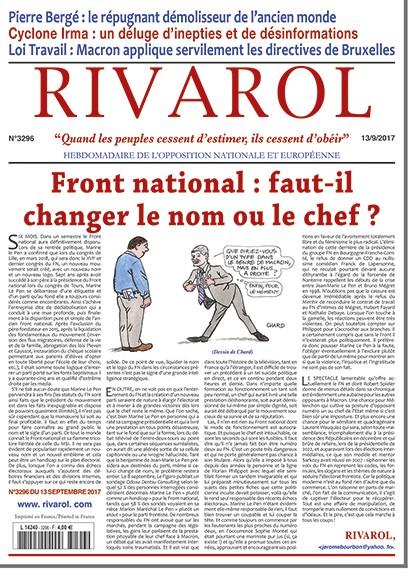Rivarol n°3296 version numérique (PDF)