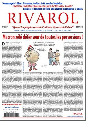Rivarol n°3297 version numérique (PDF)
