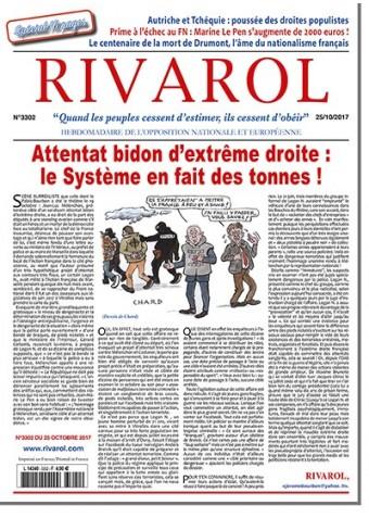 Rivarol n°3302 version numérique (PDF)