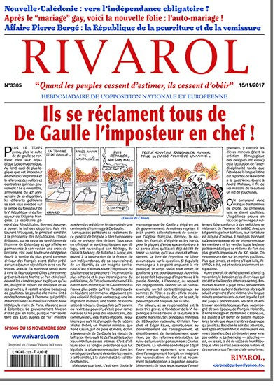 Rivarol n°3305 version numérique (PDF)
