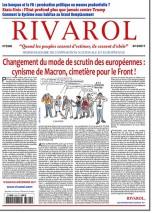 Rivarol n°3308 version numérique (PDF)