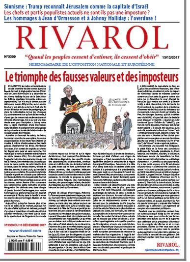Rivarol n°3309 version numérique (pdf)