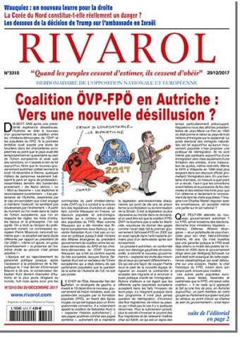 Rivarol n°3310 version numérique (pdf)