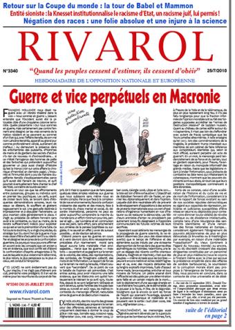 Rivarol n°3340 version numérique (pdf)