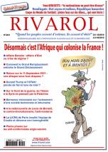 Rivarol n°3341 du 1/8 au 4/9/2018 version numérique (pdf)