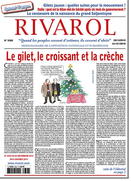 Rivarol n°3358 version numérique (pdf)