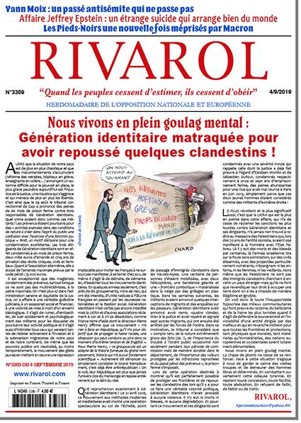 Rivarol n°3389 version numérique (pdf)