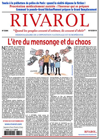 Rivarol n°3394 version numérique (pdf)