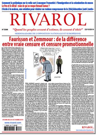 Rivarol n°3396 version numérique (pdf)