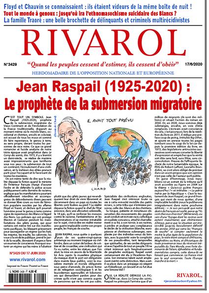 Rivarol n°3429 du 17/6/2020 (Papier)