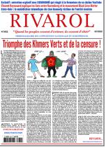 Rivarol n°3432 du 8/7/2020 (Papier)