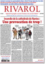 Rivarol n°3434 du 22/7/2020 (Papier)