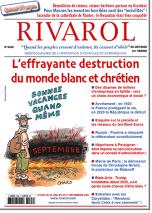 Rivarol n°3435 du 29/7 au 1/9/2020 (Papier)