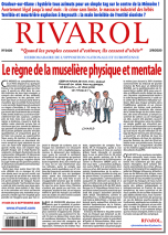 Rivarol n°3436 du 2/9/2020 (Papier)