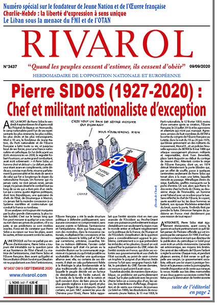 Rivarol n°3437 version numérique (pdf)