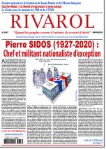 Rivarol n°3437 du 9/9/2020 (Papier)