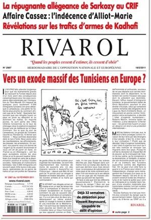 Rivarol n°2987 version numérique (PDF)