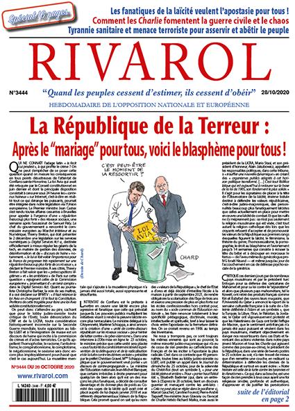 Rivarol n°3444 du 28/10/2020 (Papier)