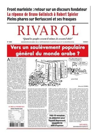 Rivarol n°2985 version numérique (PDF)