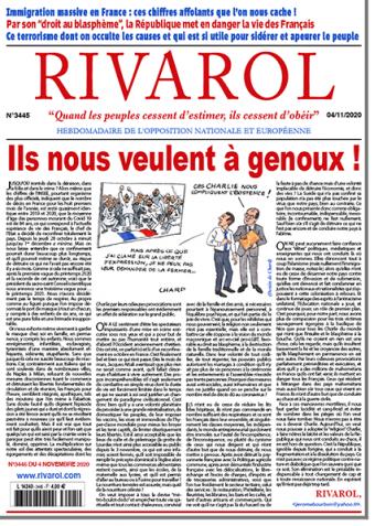 Rivarol n°3445 du 4/11/2020 (Papier)