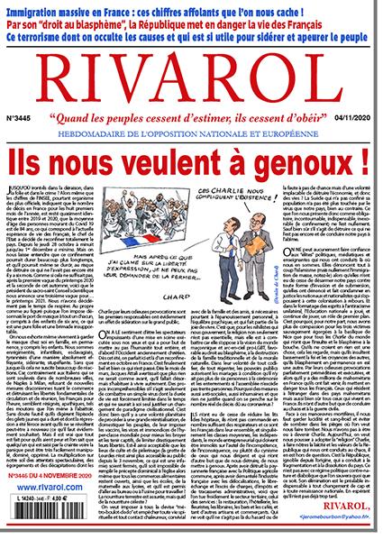 Rivarol n°3445 version numérique (pdf)