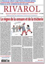 Rivarol n°3446 du 12/11/2020 (Papier)
